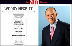 Woody Nesbitt Top Shreveport Bossier Attorney